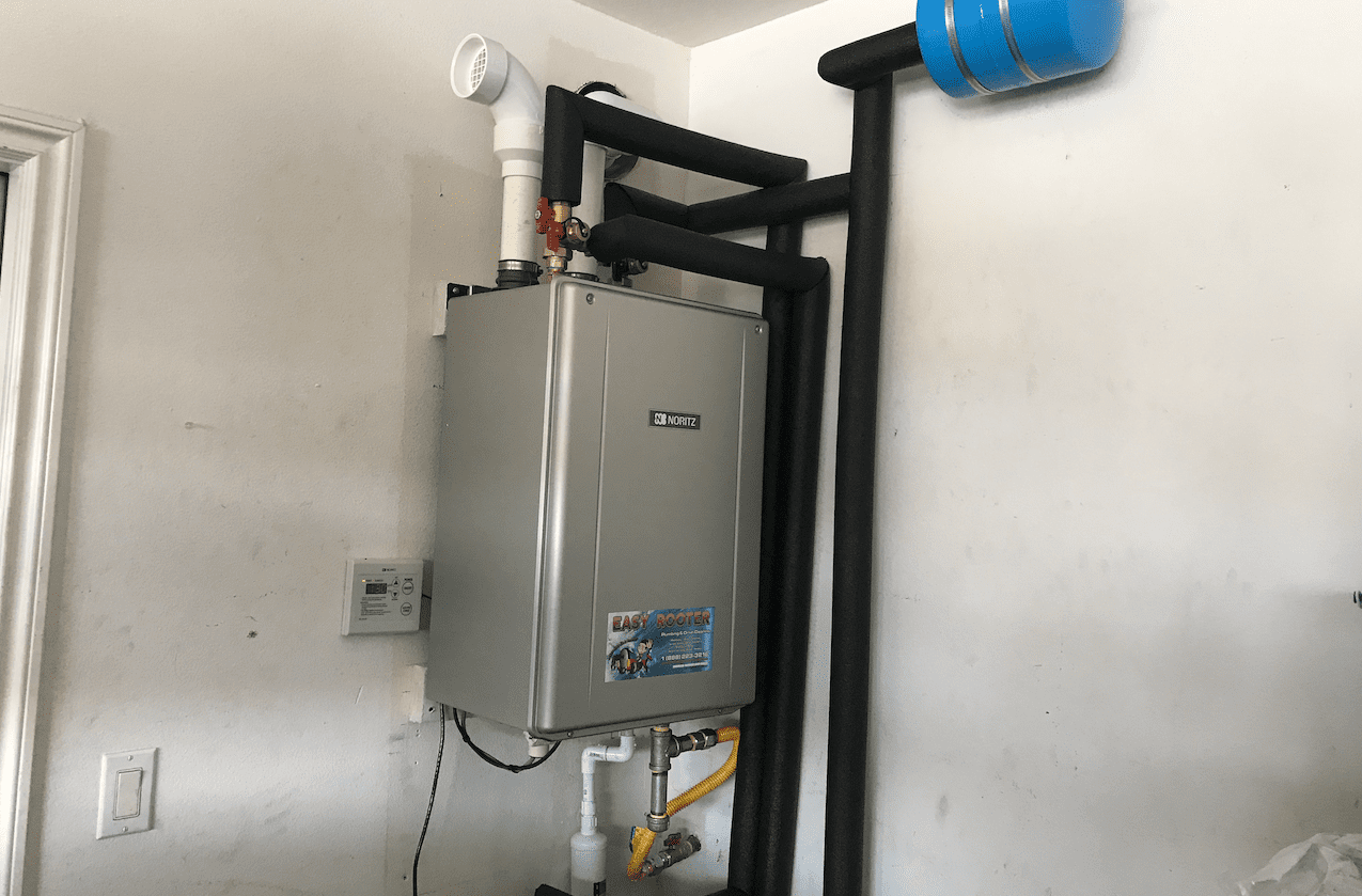 Tankless Water Heater After